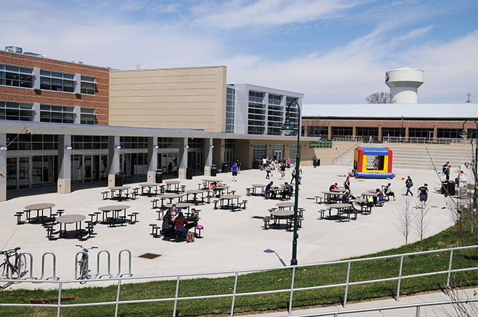 Shippensburg University Ceddia Union Building Ampitheater