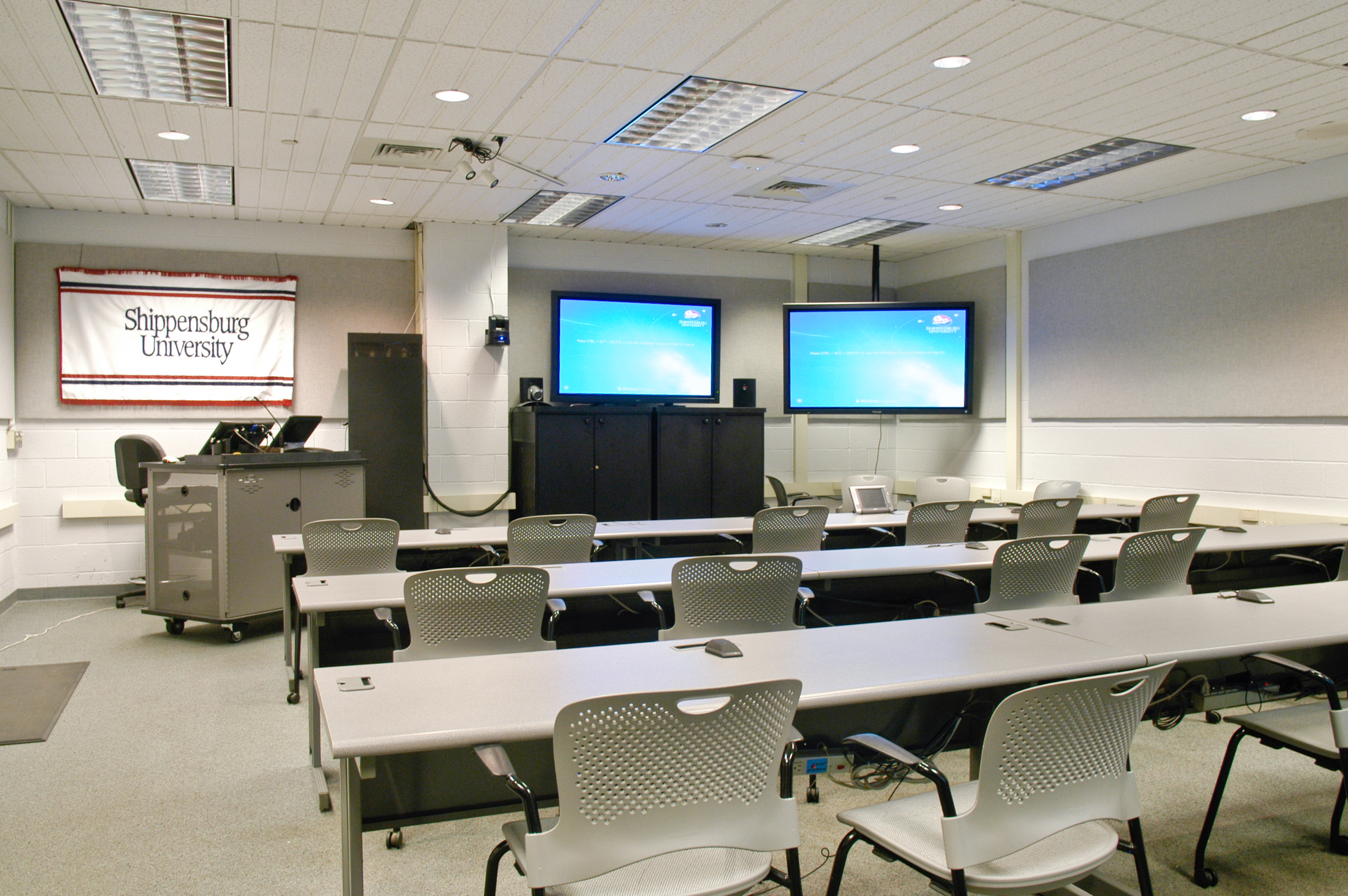 Shippensburg University Video Conference Rooms Reserve