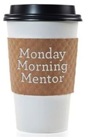 Coffee Cup with Monday Morning Mentor logo