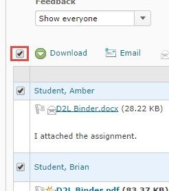 purging courses in d2l 10222014 show everyone check mark