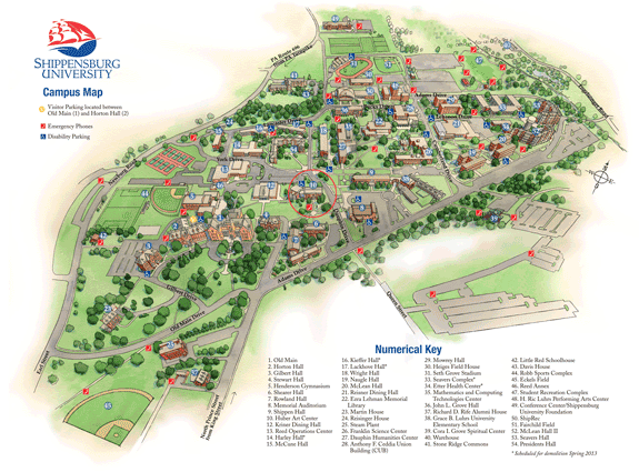 Full Campus map