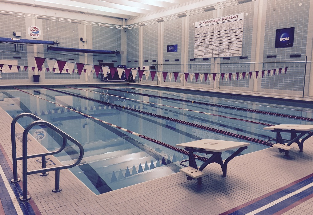 Shippensburg University Heiges Field House Pool