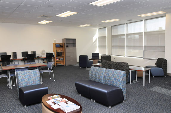 Graduate Student/Non-Traditional Student Lounge interior