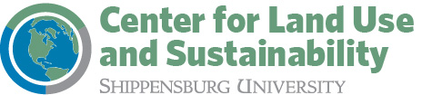 Shippensburg University Center for Land Use and Sustainability logo