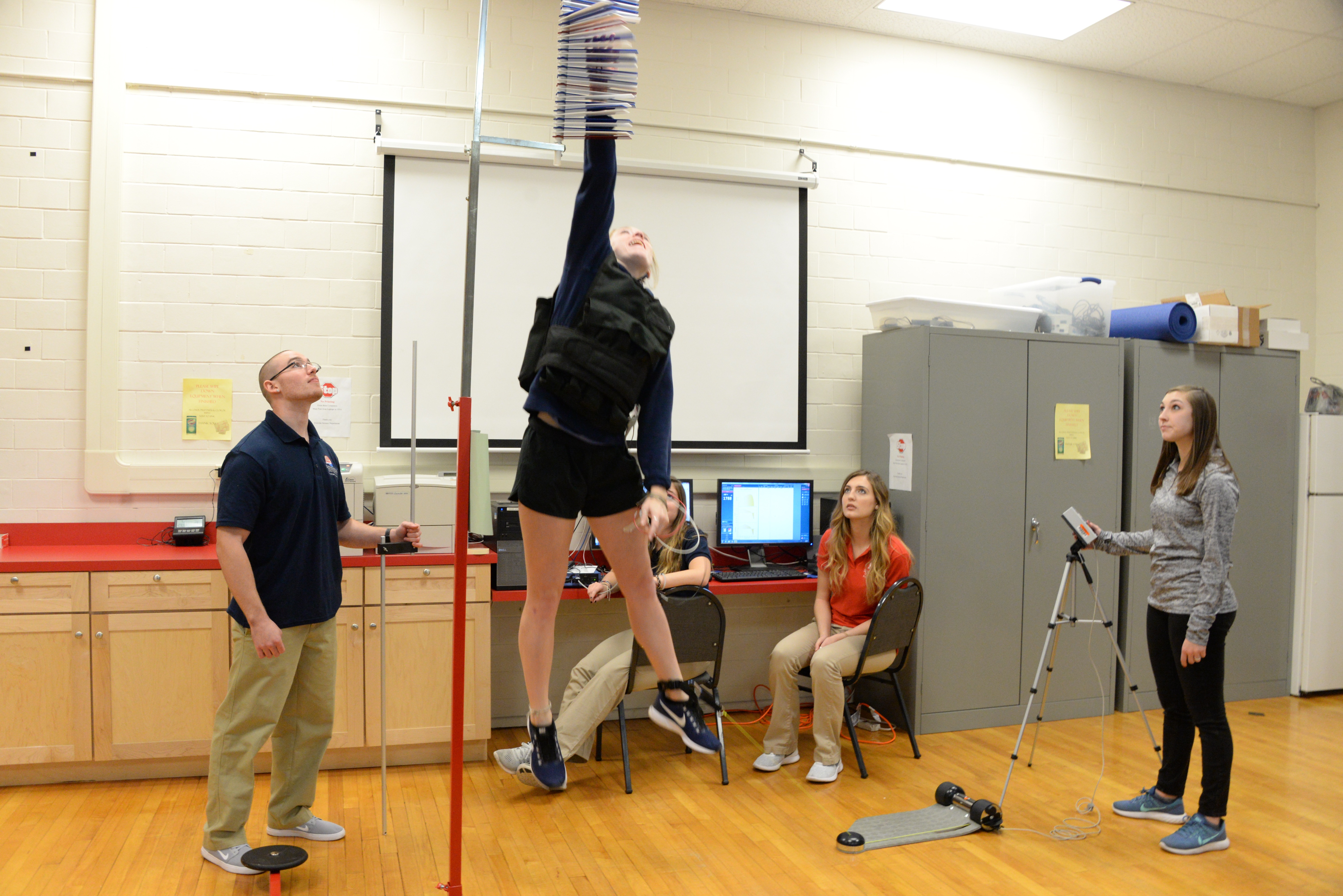 Exercise Science Fall 2017 Lab Station 1 Jump
