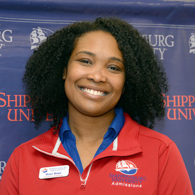 "Maya Mapp, + "" "" + Director of Graduate and Undergraduate Admissions"