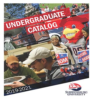 Shippensburg University 2019-2021 Undergraduate Catalog cover