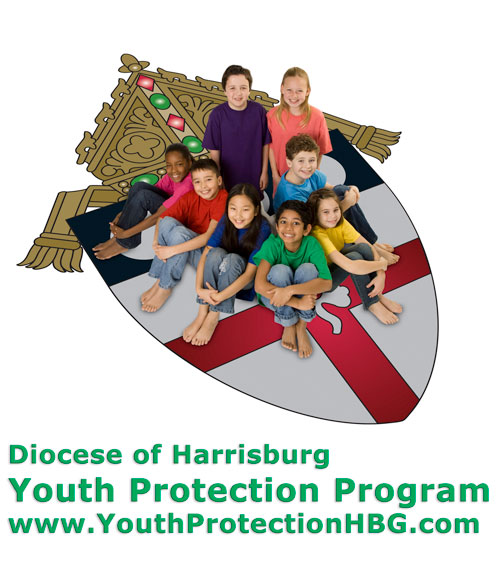 Children on a shield - Diocese of Harrisburg  Our Youth Protection Program